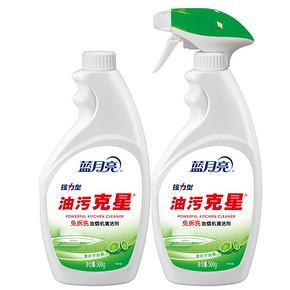 蓝月亮 强力型油污清洁剂 500g*2瓶 折12.9元(25.8,买2付1)