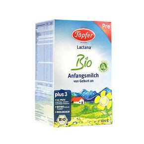 德国Topfer 特福芬 有机奶粉 Pre段 25元包邮(15+10)
