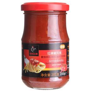 西班牙进口 公鸡 红辣椒风味意粉酱 200g 折10元(19.9,2件5折)