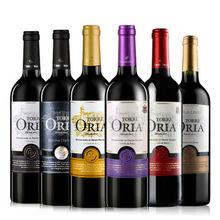 西班牙 欧瑞安DO级干红葡萄酒 750ml*6瓶 88元