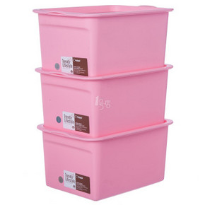 禧天龙 小号收纳盒三件套 6097 *3件    107元