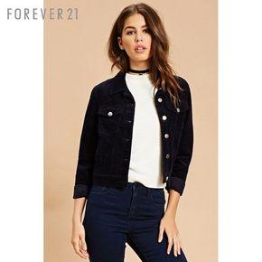 Forever21 全棉灯芯绒夹克外套 189元