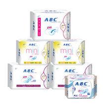 ABC 绵柔纤薄经期护理日夜组合 6包装 36元包邮(106-70券)