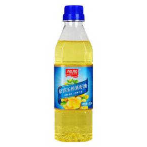 加加 非转基因原香压榨菜籽油 480ml 8.8元