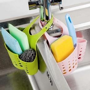 四季家居 可调节按扣式水槽挂篮 2个 5.9元包邮