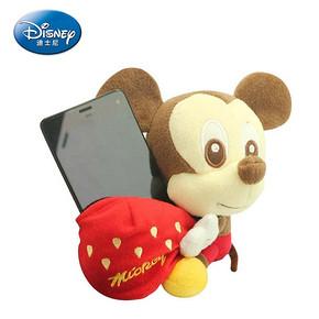 迪士尼 毛绒玩具手机座 15cm 券后9.9元包邮