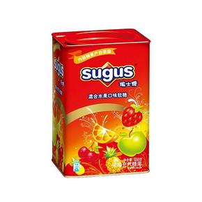 瑞士糖 罐装混合水果味糖 550g 29.9元