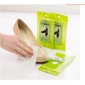 畅笑 擦鞋专用湿巾纸 5包 9.9元包邮
