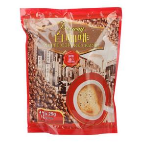 乐卡斯 白咖啡风味固体饮料 300g 折6.9元(32.9,69元10件)