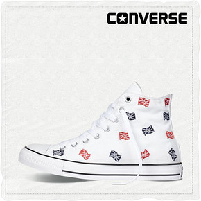 CONVERSE 匡威 All Star 国旗编织印花帆布鞋 199元包邮