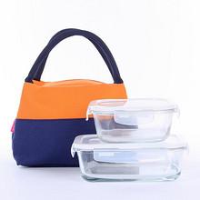 日本手提便当包保温饭盒袋 9.5元包邮