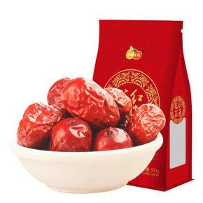 西域美农 新疆一等若羌红枣 500g 折10元(19.9,5件5折)