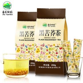 喜乐田园 四川黑苦荞茶 250g 8.9元包邮(23.9-15券)