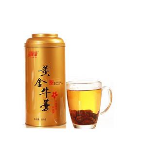 益顺康 罐装黄金牛蒡茶 250g 8.5元包邮(29.7-21.2)