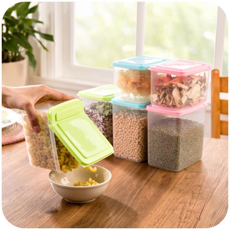 四季家居 翻盖式食品密封罐 2.8元包邮
