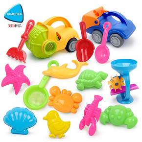 怀乐 儿童沙滩玩具车套装 6.9元包邮