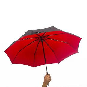 艾拉多伦 双色自动三折双层防晒遮阳伞 38元包邮(88-50券)