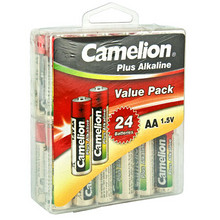 PLUS专享# Camelion 飞狮 超强碱性5号电池 24节 19.9元