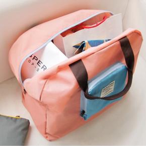静阁家居 旅行收纳旅行防水折叠单肩包 9.5元包邮