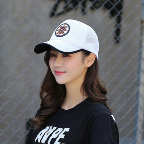 诗玛迩 女遮阳鸭舌棒球帽 9.8元包邮