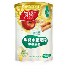 阿颖 山药苹果燕麦婴儿小米米粉 508g 折28.4元(双重优惠)