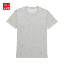 舒适基础款# Uniqlo 优衣库 男装袋装圆领T恤   35元包邮