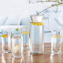 青苹果 创意玻璃杯凉水壶套装 19.9元(39.9-20)