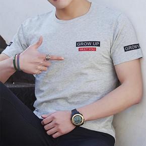 稷儿哲 男士短袖T恤 14.9元包邮(19.9-5券)