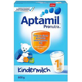 Aptamil 爱他美 婴幼儿奶粉 1段 600g 89元