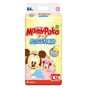 MamyPoko 妈咪宝贝 婴儿纸尿裤 L 54片 59元