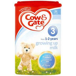 Cow&Gate 牛栏 婴儿配方奶粉 3段 900g  90元