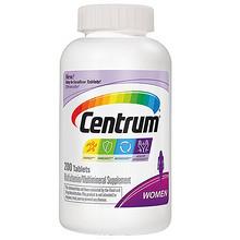 善存 女士复合维生素多种营养素矿物质 200粒 166.7元(149元+17.7)