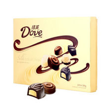纵享丝滑# 德芙 精心之选多口味巧克力礼盒装  280g*2盒  79元
