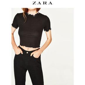 仅S码# ZARA  女士短款上衣  59元包邮