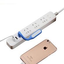 戴利普 创意带USB多孔插线板 1.6m 16.9元包邮(19.9-3券)