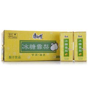 康师傅 冰糖雪梨250ml *24盒 21.9元