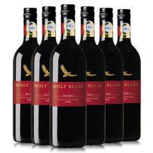 澳大利亚进口 纷赋干红葡萄酒 750ml*6瓶  299元包邮