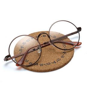 圆形复古眼镜框平光镜防辐射眼镜  7.9元
