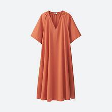 时尚优雅# UNIQLO 优衣库 泡泡纱女士连衣裙  149元