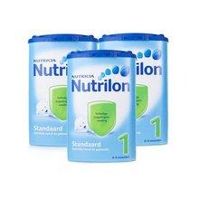 Nutrilon 荷兰牛栏 婴儿奶粉1段 850g*3罐装 376元包邮包税(396-20)