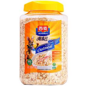 西麦 早餐谷物 膳食纤维 即食 纯燕麦片 880g19.9元