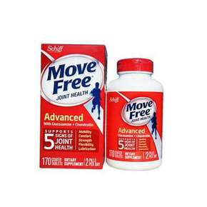 保护关节# Schiff Move Free 氨基葡萄糖维骨力片 170粒 99元包邮包税