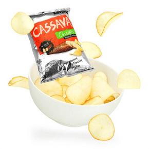 PLUS专享# Kernes 克恩兹 原味木薯片 150g*8袋+黑胡椒味150g  51.9元包邮(151.9-50-50券)