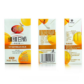 维维豆奶250ml*12整箱装 19.9元