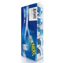 五月花 超值系列 3层有芯卷筒卫生纸 140g*10卷 13.9元