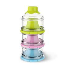 方便卫生# 伊斯卡尔 新生儿外出用品三层罐奶粉格 39元包邮(49-10券)