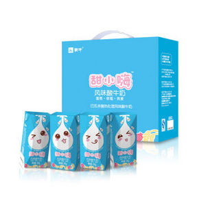 蒙牛 甜小嗨 常温风味酸牛奶利乐钻  200g*12盒 39.9元