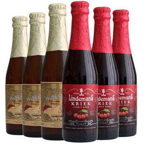 林德曼 精酿啤酒 组合装 250ml*6瓶 折59.5元(119,买2免1)