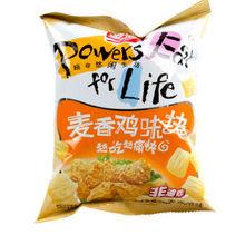 越吃越痛快# 盼盼 麦香鸡味块 60g 折2.2元(19.9选9)