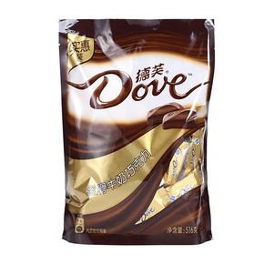 Dove 德芙 丝滑牛奶巧克力 516g 29.9元
